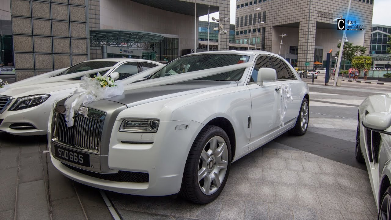 Rolls Royce Ghost Wedding Car Hire Nationwide