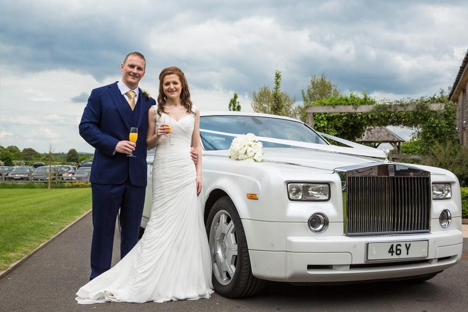 Rolls Royce Phantom in White